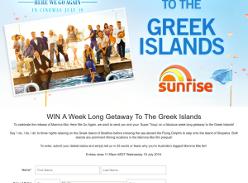 Win a Trip to the Greek Islands