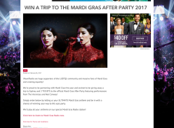 Win a trip to the Mardi Gras after party 2017! (Registered iHeartRADIO Users ONLY)