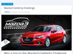 Win a trip to the 'Mazda 3' celebrity challenge at the 2014 Formula 1 Australian Grand Prix!
