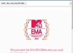 Win a trip to the MTV EMAs in Frankfurt!