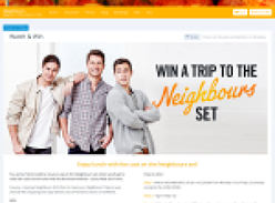 Win a trip to the Neighbours set!