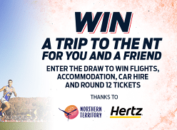 Win a Trip to The NT for Two