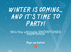 Win a Trip to the Snowtunes Music Festival in Jindabyne for 2