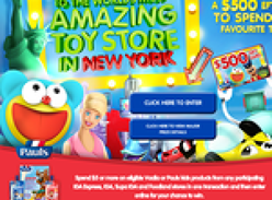 Win a trip to the world's most amazing toy store in New York!