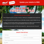 Win a trip to tropical Fiji!