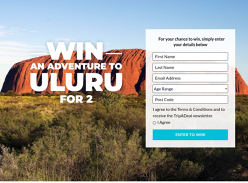 Win a Trip to Uluru for 2