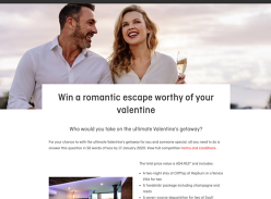 Win a Valentine's Day Getaway to Cliftop at Hepburn for 2