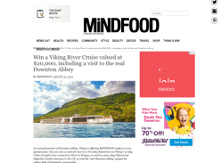Win a Viking River Cruise valued at $20,000!