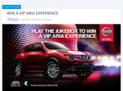 Win a VIP ARIA experience!
