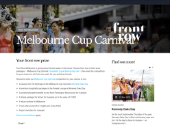 Win a VIP Melbourne Cup Trip for 4