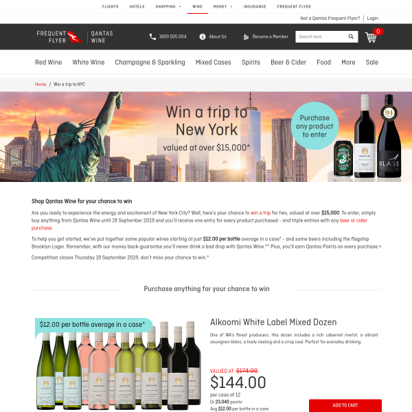 Win a VIP Trip for 2 to New York