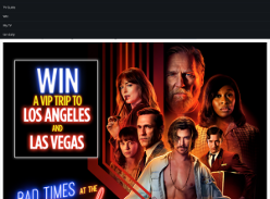 Win a VIP trip to Los Angeles and Las Vegas