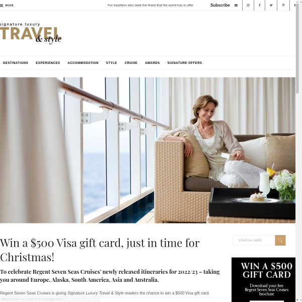 Win a Visa Gift Card