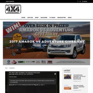 Pat Callinan Media - Win a Volkswagen Amarok V6 Sportline