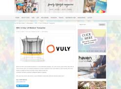 Win A Vuly 'Lift Medium' Trampoline