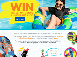 Win a Wahu mega prize pack worth over $1000!