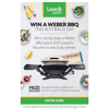 Win a Weber BBQ from Lenards Chicken
