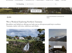 Win a weekend for 2 exploring Northern Tasmania!
