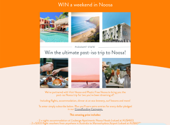Win a Weekend Getaway to Noosa for 2