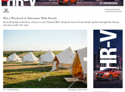 Win a Weekend of Adventure With Honda