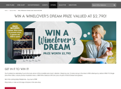 Win a Winelovers Dream prize!