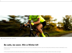 Win a Winter Cycling Kit