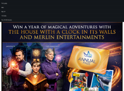 Win a year of magical adventures with The House with a Clock on Its Walls and Merlin Entertainments