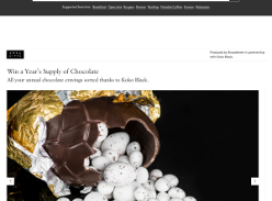 Win a Year's Supply of Chocolate