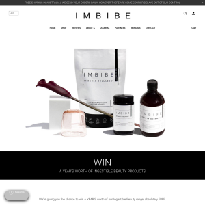 Win a Year's Supply of Ingestible Beauty Products