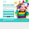 Win a year's free child care