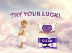 Win A Year's Supply (208 Rolls) of Quilton