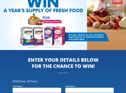 Win a years supply of Fresh Food!
