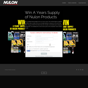 Win A Years Supply of Nulon Products