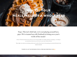 Win a year's worth of Youfoodz meals