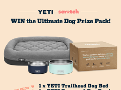 Win a YETI & Scratch Dog Prize Pack