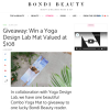 Win a Yoga Mat by Yoga Design Lab