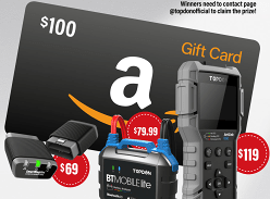 Win Amazon Gift Card & TOPDON New Products