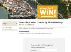 Win an 8-Day European Adventure