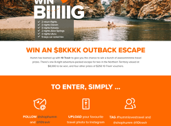 Win an $8K NT Outback Escape!
