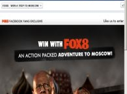 Win an action packed adventure to Moscow!