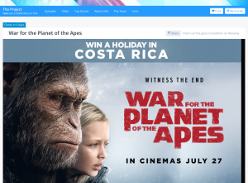 Win an action packed trip for 2 to Costa Rica