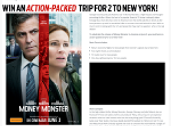 Win an action-packed trip for 2 to New York!