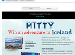 Win an adventure in Iceland!