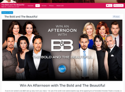Win an afternoon with 'The Bold & The Beautiful'!
