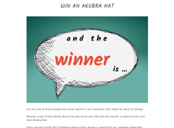 Win an Akubra Hat of your choice!