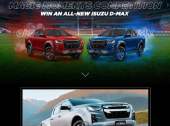 Win an All-New Isuzu D-MAX