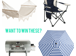Win an amazing outdoor living prize pack
