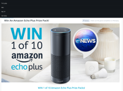 Win An Amazon Echo Plus Prize Pack
