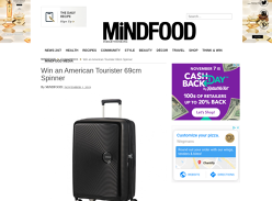 Win an American Tourister 69cm Spinner