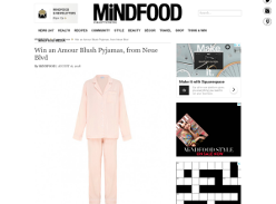 Win an Amour Blush Pyjamas, from Neue Blvd